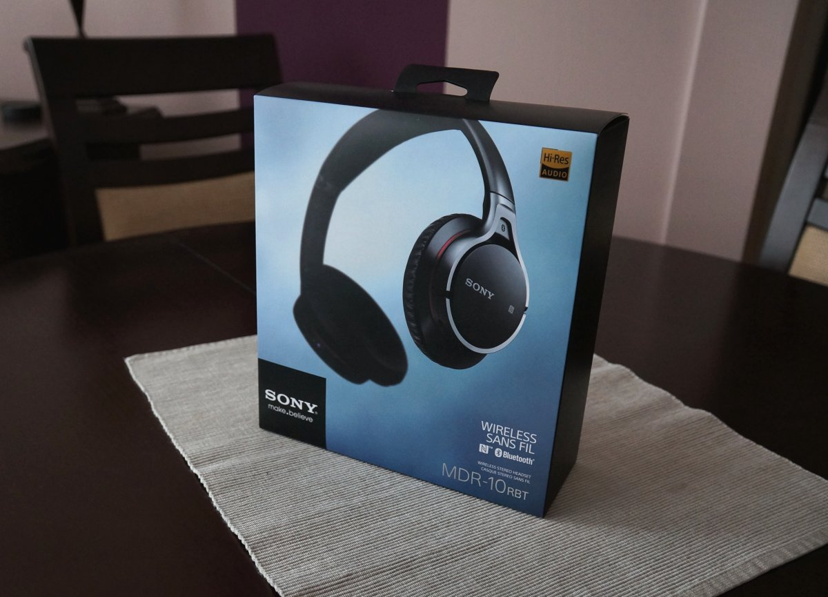 Sony MDR-10R BT headhpones review