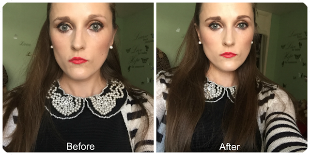 before and after hd brows v-tec brow pencil