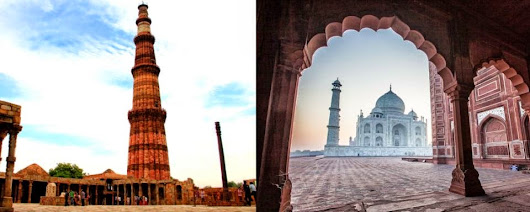 Drive from Past to Present with India's Golden Triangle
