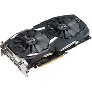 Asus DUAL-RX580-O8G Radeon RX 580 Graphic Card - 1.36 GHz Core -1.38 GHz Boost Clock - 8 GB GDDR5 - 256 bit Bus Width - Fan Cooler - DirectX12, OpenGL 4.5 - 2 x DisplayPort - 2 x HDMI - 1 x Total Number of DVI (1 xDVI-D) - PC - 4 x Monitors Supported