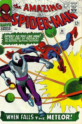 Amazing Spider-Man #36, Steve Ditko cover, the Looter