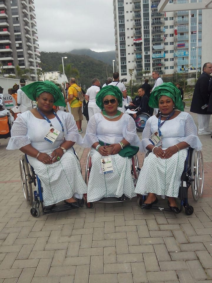 Photos: Team Nigeria jets out for 2016 Paralympics in Rio, Brazil