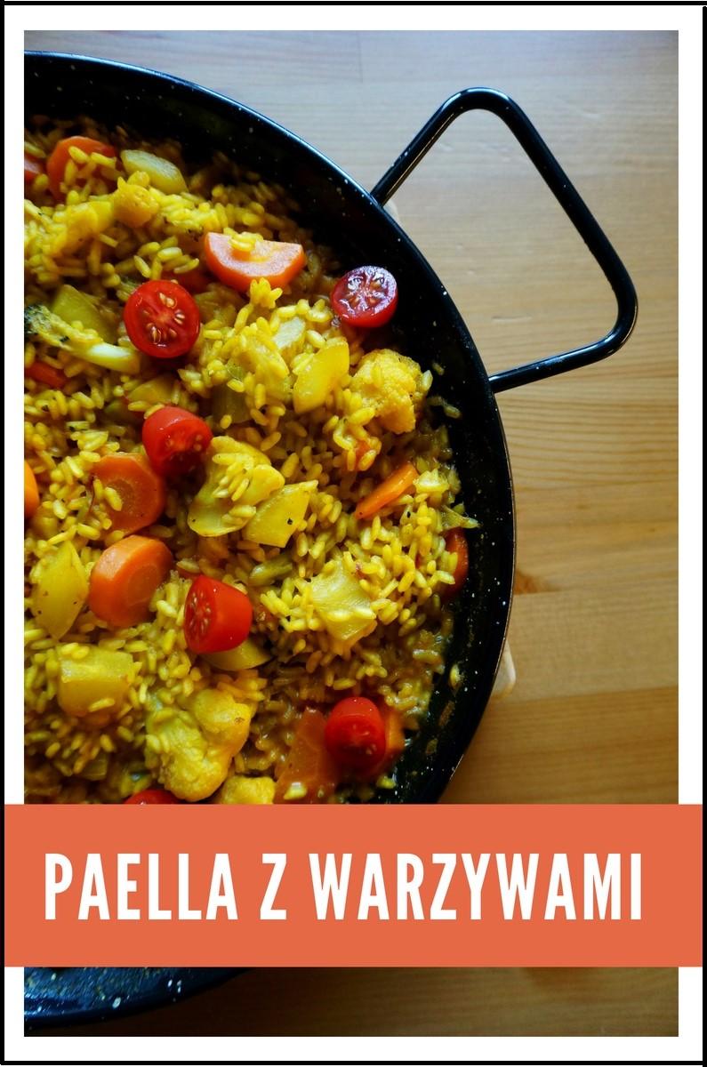 Paella z warzywami wg. hiszpańskiego przepisu