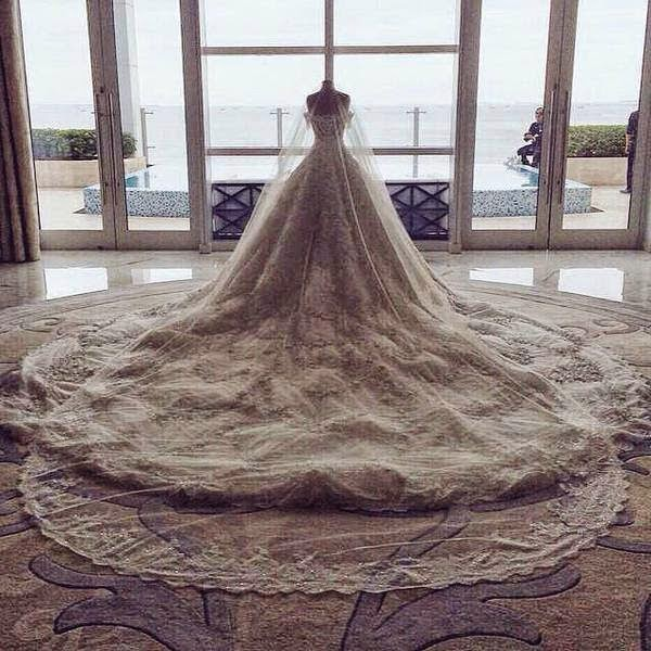 marian rivera princess wedding dress