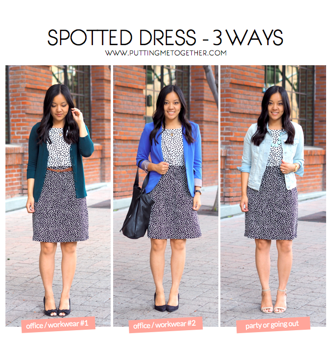 business casual outfits with a dress