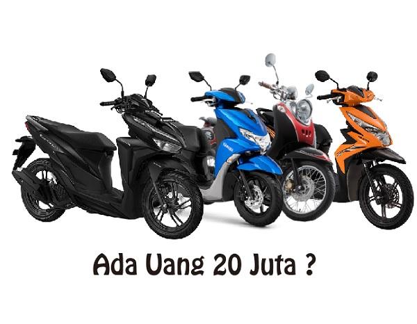 Daftar Motor Matic 20 Juta Rupiah