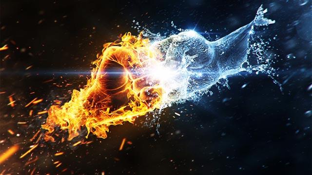 Kết quả hình ảnh cho nước và lửa