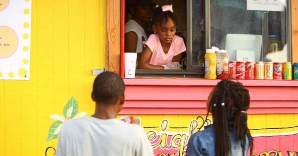 Kyleigh McGee, 7-year old girl running her own food truck