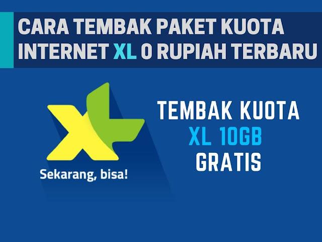 Ntah sebab bug atau memang promosi dari XL Tutorial Tembak Paket Kuota XL 10GB Rp0 Terbaru