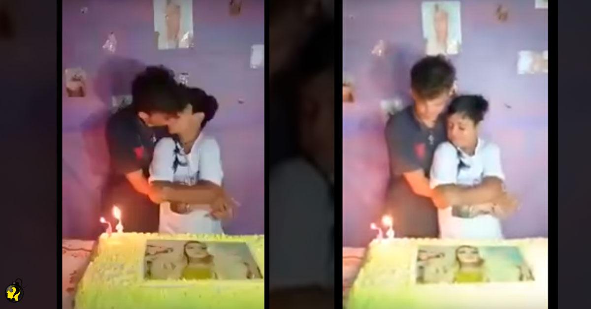 Com bolo de Pabllo Vittar, garoto de 12 anos beija namorado de 14 e vídeo vira polêmica na web