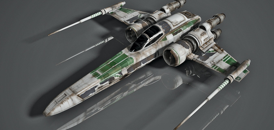 Nava Z-95 Headhunter din universul extins Star Wars