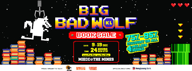Big Bad Wolf Books Malaysia Book Fair KL The Mines
