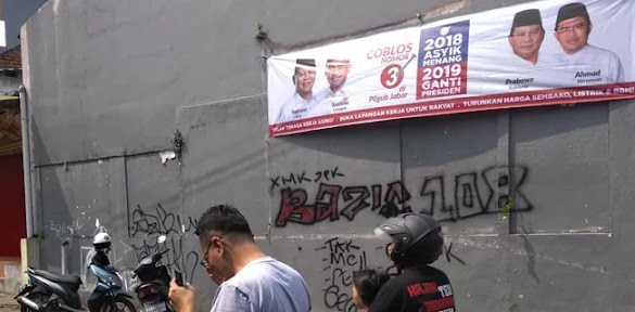 Spanduk Prabowo-Aher Bertebaran Di Jawa Barat