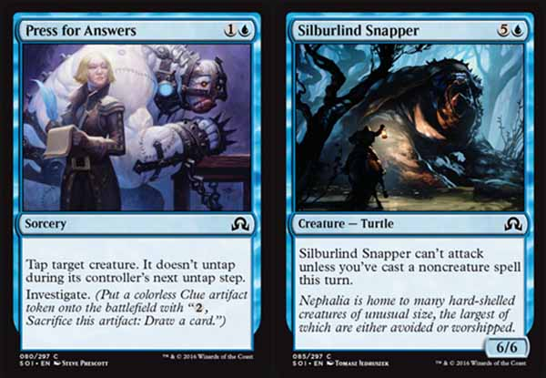 magic the gathering adventures shadows over innistrad review blue