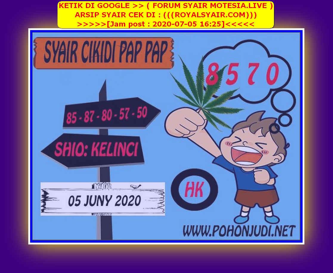 Kode syair Hongkong Minggu 5 Juli 2020 188