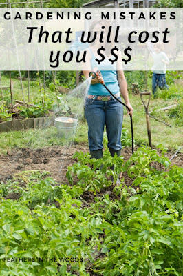 money saving garden hacks