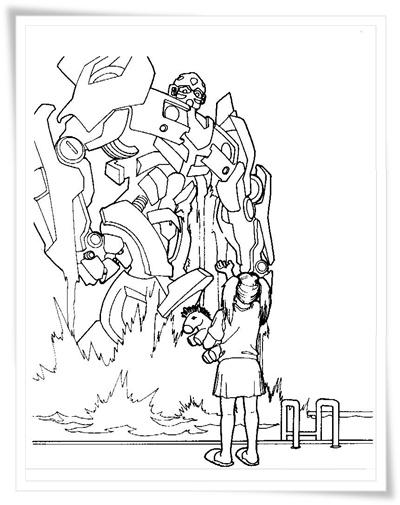 Transformers Ausmalbilder