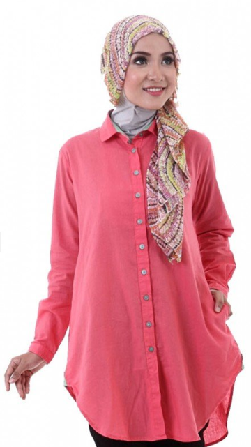 Trend Model Baju Hamil Muslim Atasan Casual
