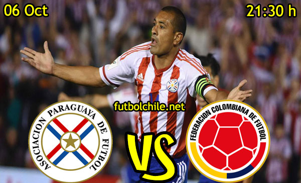 Ver stream hd youtube facebook movil android ios iphone table ipad windows mac linux resultado en vivo, online:  Paraguay vs Colombia