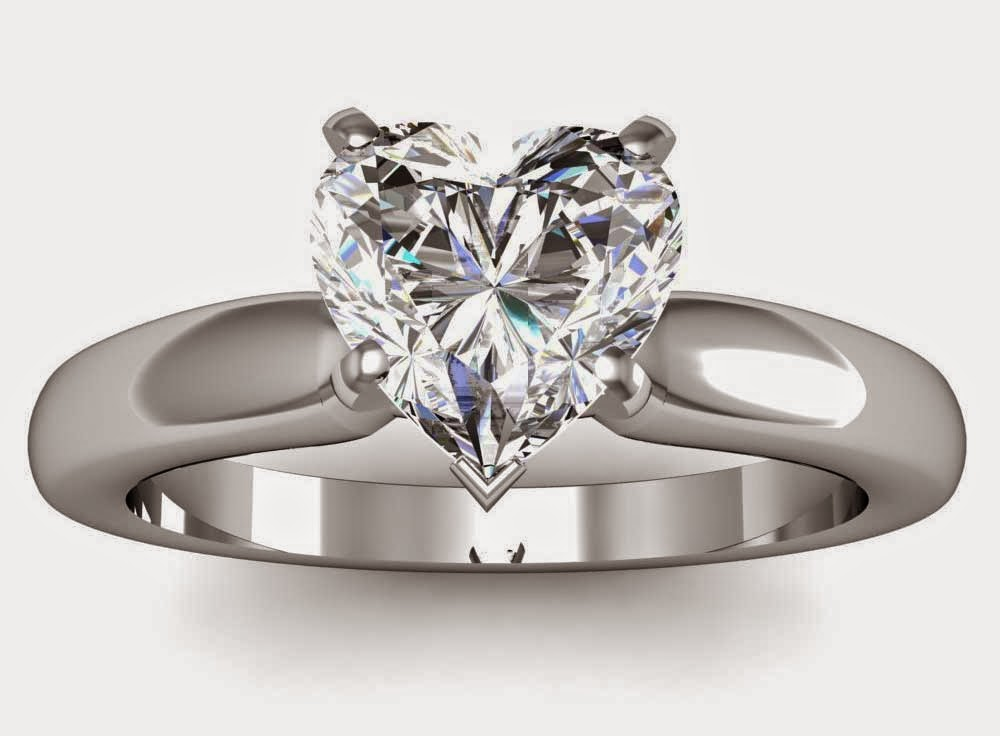 unique heart shaped diamond wedding rings her model images