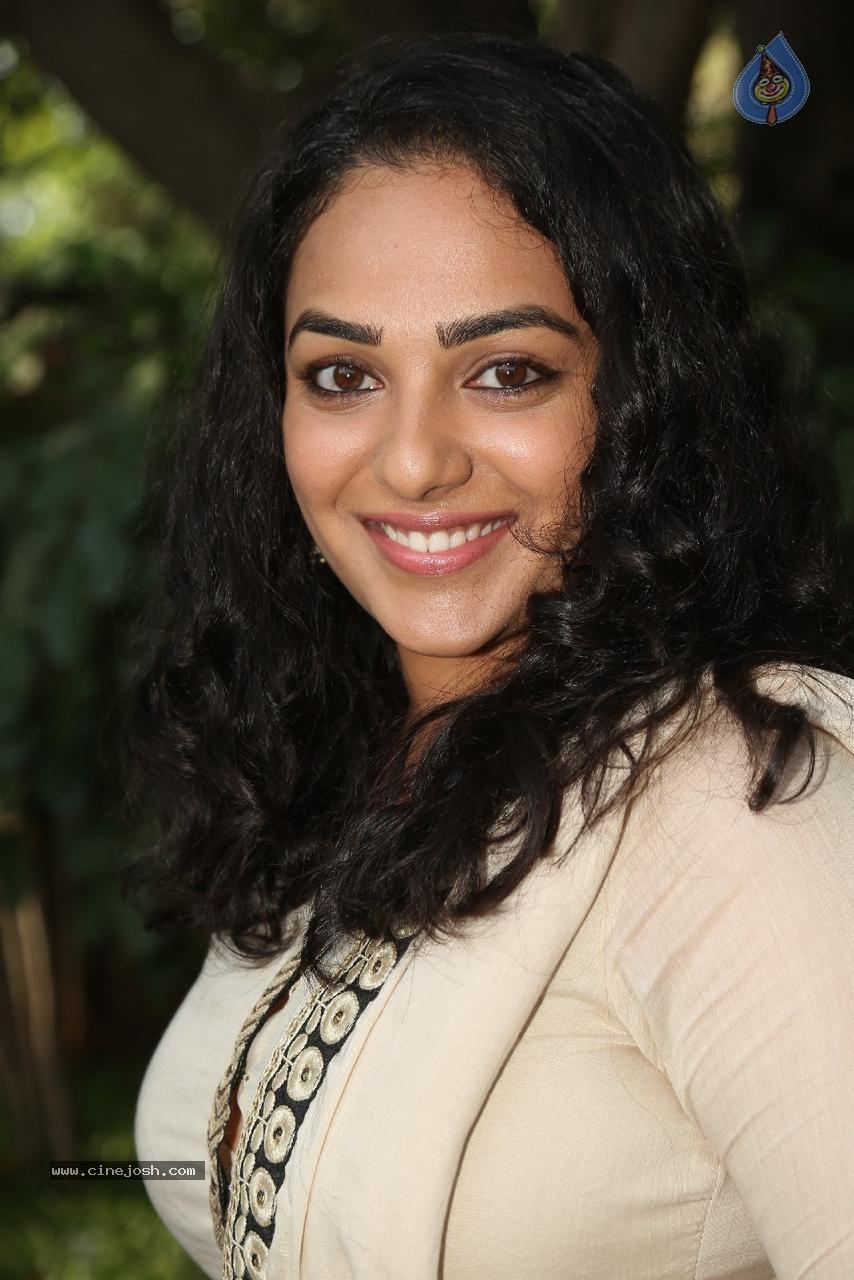 Nithya menon photoshoot at OK Bangaram Audio Success Meet (18)
