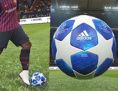 PES 2019 UEFA Champions League Official Ball 2018/2019 by Hawke