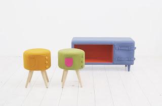 Diseño de muebles original retro