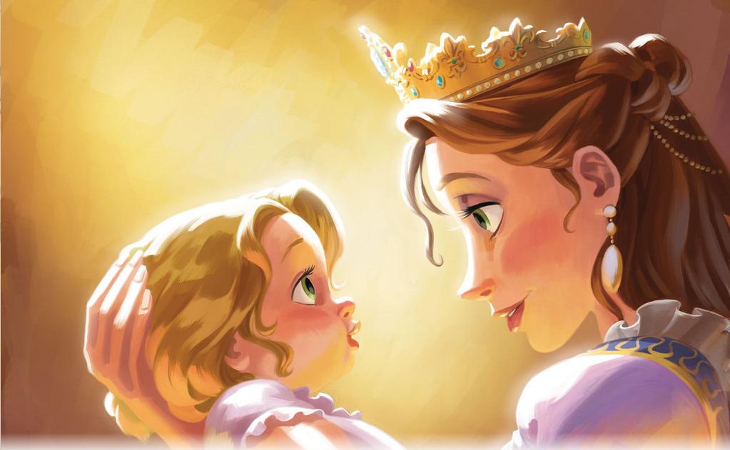 Kraina Disneya ZaplĄtani Czytanie Z RoszpunkĄ