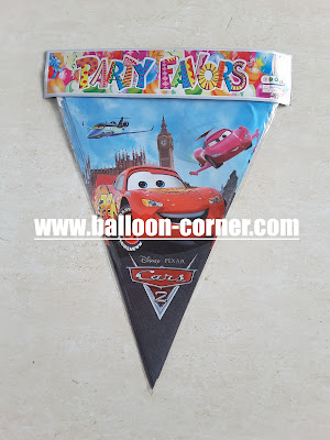 Bunting Flag Cars