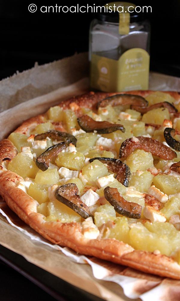 Sfoglia Rustica con Patate, Zucchine e Feta