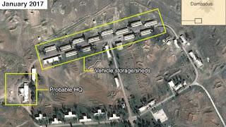 ISRAEL ACABA DE ATACAR UNA BASE MILITAR IRANÍ SITUADA A 14 KILÓMETROS DE DAMASCO