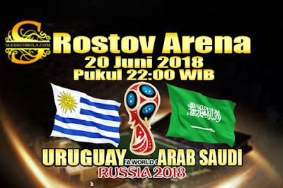 AGEN BOLA ONLINE TERBESAR - PREDIKSI SKOR PIALA DUNIA 2018 URUGUAY VS ARAB SAUDI 20 JUNI 2018