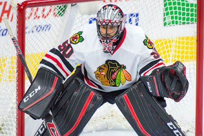 NHL : Crawford, Hawks Host Rising Flyers