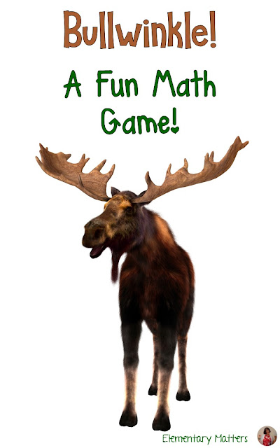 Bullwinkle: a fun math game! Here's an easy game that requires nothing but fingers... and fun! It's great for morning meeting or just a filler!