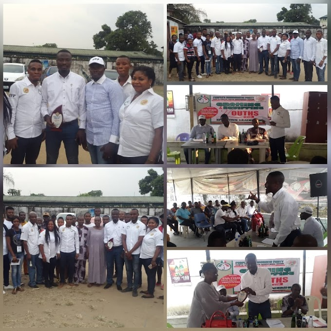 PDP South-South Youth Awareness Forum officially inducts Hon. Joseph Edet as its Patron