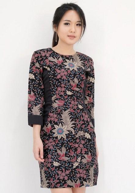 35 Model Baju Batik Atasan 2019 Simple Casual Modern