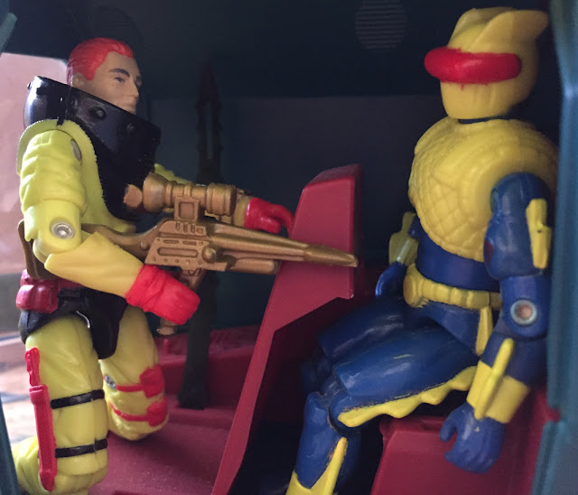 1993 Mail away Deep Six, 1992 Cobra Eel, 1988 Cobra Bugg