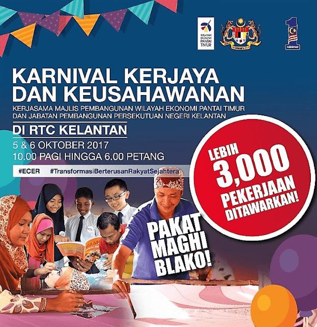Karnival Kerjaya dan Keusahawanan Kelantan 2017,