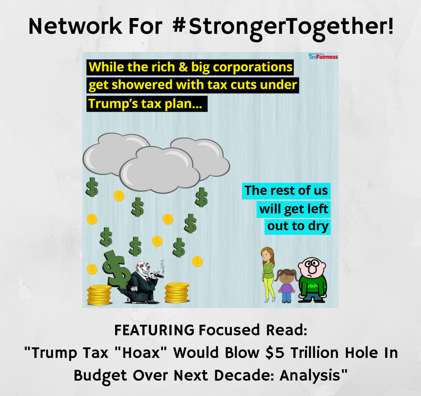 "Network For #StrongerTogether: #StrongerTogether ! ""Trump"