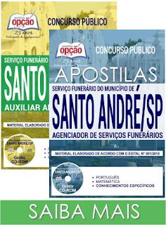 apostilas para Concurso Prefeitura de Santo André SP