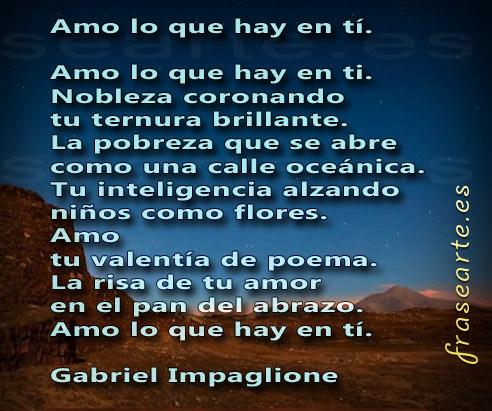 Versos de amor - Gabriel Impaglione