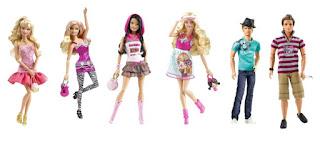 Coleção Barbie Fashionista 2010