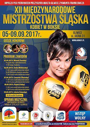 """SKF """"BOKSING"""" Zielona Góra na XII Międzynarodowych Mistrzostwach Śląska Kobiet w Boksie, Gliwice 2017!"""