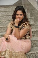 Shilpa Chakravarthy in Lovely Designer Pink Saree with Cat Print Pallu 055.JPG