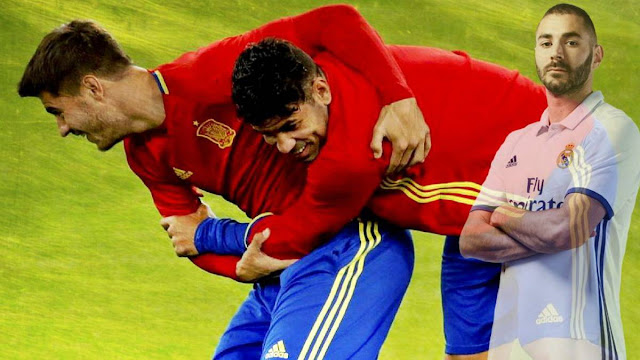 Diego Costa dan Benzema