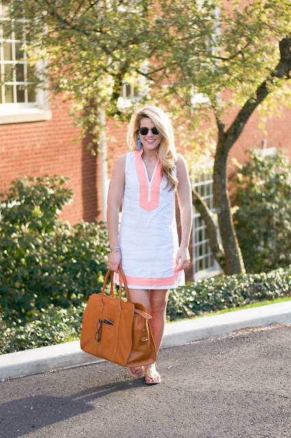 Sail to Sable sleeveless tunic dress