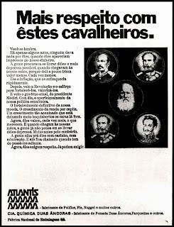 propaganda ufanista anos 70; história anos 70; década de 70; Oswaldo Hernandez;