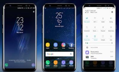 Download Tema Samsung S8 mtz Terbaru untuk Xiaomi Gratis