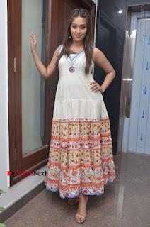 Telugu Actress Anu Emmanuel New Stills in Beautiful White Long Dress  0068.JPG