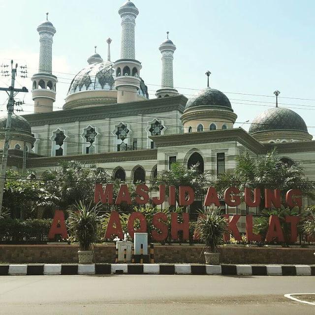 masjid agung al aqsha klaten